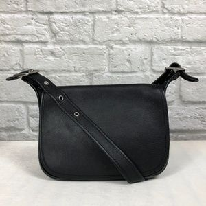 Coach Patricia Messenger Bag in Black
